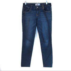 Juniors Jolt Size 7 Jeans Dark Wash Skinny Style